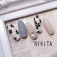 ジェル付け放題 #nikita2007 #ネイルブック