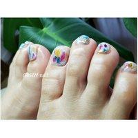 フットジェル #GROW nail #ネイルブック