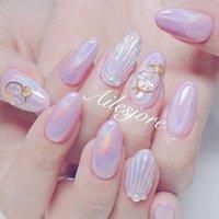 キラキラユニコーンネイルベースの 人魚の鱗𓇼𓆡𓆉🦄💎✨ お持ち込み画像をMixです(*´ω`*) * 本厚木ネイルサロン Ailesjoreエルジョワ *  #nails #Japannail #Japan #beauty #art #nailartist #Instanails #naildesign #gelnails #nailstagram #젤네일 #네일 #指甲彩繪 #凝膠指甲 #美甲 #本厚木 #本厚木ネイルサロン #町田 #渋沢 #エルジョワ #夏ネイル2018 #キラキラネイル #人気ネイル #glitternails #unicornnails #💅🏼 #accessories #サマーネイル #人魚の鱗 #ユニコーンネイル #夏 #海 #オフィス #ハンド #パール #人魚の鱗 #スターフィッシュ #ユニコーン #ミディアム #ピンク #ジェル #お客様 #nailist_tsubasa #ネイルブック