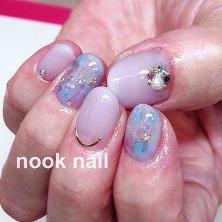 お花!というアートがなくても紫陽花カラーで季節を感じられます♡^_^! ※9日 13:00〜15:30〜空きあります🙆🍎 ・ ・ ・ ・ 担当:中山 自他店オフ&税込み7000円 ! ※nooknail ではネイリスト、アイリスト、場所を貸して欲しいという方を募集しております! 貴方の働きたいスタイルに合わせて♡ご相談お待ちしております♡ ・ ・ ・ #nail #nails #nailawag #nailart #naildesign #instanail #nailmodel # #nooknail #englishok  #ネイル #ネイルアート #ジェルネイル #表参道 #表参道ネイルサロン #定額制ネイルサロン #オフ込み7000円 #ネイルモデル #大人シンプル #大人可愛い #梅雨ネイル #ホログラム #ネイリスト募集 #場所貸し #表参道場所貸し#大人ネイル #オフィスネイル #ショートネイル #紫陽花ネイル #オパールネイル #夏 #梅雨 #オフィス #ハンド #ワンカラー #ホログラム #ラメ #ビジュー #ショート #水色 #ブルー #パープル #ジェル #お客様 #ネイルモデル #nooknail #ネイルブック