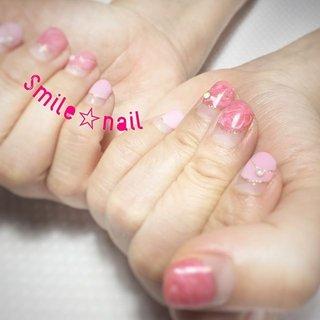 大田原定額ネイルサロン Smile☆nailです(*^^*) シンプル派のお客様💅 目が慣れて徐々にアートが増えてきました((* ´艸`)) どんどん攻めましょう(๑•̀ㅂ•́)و✧ Smile☆nailはお客様1人1人に合わせたネイルをお作りします😉 ☆,。・:*:・゚'☆,。・:*:・゚'☆,。・:*:・゚' #smilenail #スマイルネイル #大田原市ネイルサロン #大田原ネイルサロン #大田原定額ネイル #定額ネイル #お家サロン #ネイルサロン #ジェルネイル #セルフネイル #ネイルアート #ネイリスト #個性派ネイル #派手カワネイル #美爪 #ネイルチップ #オーダーチップ #ミンネ #minne #オフィスネイル #丸フレンチ #マーブルネイル #ピンクネイル ☆,。・:*:・゚'☆,。・:*:・゚'☆,。・:*:・゚' HPはプロフィールのURLから☆ ☆,。・:*:・゚'☆,。・:*:・゚'☆,。・:*:・゚' フリルでピアス ミンネでネイルチップを販売してます ٩( ᐛ )و  Smile☆nail https://minne.com/5116ykr - ハンドメイドマーケットminne(ミンネ) Smile☆bijou フリマアプリ FRIL https://fril.jp/shop/Smile_bijou #オールシーズン #オフィス #パーティー #デート #ハンド #シンプル #変形フレンチ #マーブル #ショート #ピンク #ジェル #お客様 #Smile☆nail #ネイルブック
