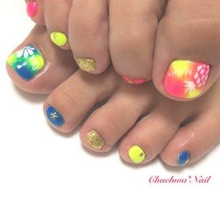 ネオン×夏モチーフ♡  . #nails #naildesign #nailart #instanails #instagood #neon #summer #shell #pineapple #nailstagram #painting #like4like #chaehwanail #ネイル#ネイルデザイン #手書きアート #夏ネイル #夏 #ネオンカラー #シェル #タイダイ #派手ネイル #パイナップル #カラー #京急川崎 #川崎ネイルサロン #네일#네일아트#네일스타그램 #젤네일 . ご予約は↓からお願いします! *Facebook : https://m.facebook.com/Chaehwa.Nail/ *LINE@ : @chaehwa_nail(@から検索) *Gmail : chaehwa.nail@gmail.com *Instagram DM : @chaehwa_nail *ネイルブックネット予約(プロフィールのURLから予約可能!) ご連絡お待ちしております(*´꒳`*)♪ Chaehwa*Nail #夏 #旅行 #海 #リゾート #フット #ワンカラー #シェル #タイダイ #トロピカル #フルーツ #ショート #ゴールド #ネオンカラー #ビビッド #ジェル #お客様 #chaehwa_8127 #ネイルブック