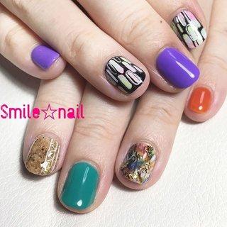 大田原定額ネイルサロン Smile☆nailです(*^^*) @nhk2y #naomi先生 と @nailazurl_ayako #ayako先生 のアートでデーハー祭り♪ #コルクネイル も入れて最強派手カワネイルになりました♪ ☆,。・:*:・゚'☆,。・:*:・゚'☆,。・:*:・゚' #smilenail #スマイルネイル #大田原市ネイルサロン #大田原ネイルサロン #大田原定額ネイル #定額ネイル #お家サロン #ネイルサロン #ジェルネイル #セルフネイル #ネイルアート #ネイリスト #個性派ネイル #派手カワネイル #美爪 #ネイルチップ #オーダーチップ #ミンネ #minne #vetro #ベトロ #秋ネイル ☆,。・:*:・゚'☆,。・:*:・゚'☆,。・:*:・゚' HPはプロフィールのURLから☆ ご予約の際は以下ドメイン、アドレスが受信出来るように設定をお願い致します。 yukari51fj@gmail.com @reserva.be ☆,。・:*:・゚'☆,。・:*:・゚'☆,。・:*:・゚' フリルでピアス ミンネでネイルチップを販売してます ٩( ᐛ )و  ネイルチップ→ミンネ https://minne.com/5116ykr (スマイルネイルで検索‼︎) ピアス→フリル  https://fril.jp/shop/Smile_bijou (スマイルビジュー ネイリストで検索‼︎) #オールシーズン #旅行 #リゾート #女子会 #ハンド #レトロ #ロック #ショート #カラフル #ビビッド #ジェル #お客様 #Smile☆nail #ネイルブック