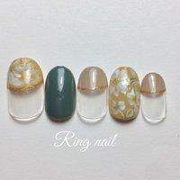 【秋色フラワーネイル】 * 秋でもやっぱりフラワーネイル♡ * #nail #nails #nailart #nailstagram #gelnail #beauty #autumnnails #かわいい #simplenails #ジェルネイル #大人ネイル #おしゃれ #フラワーネイル #ベージュネイル #秋ネイル #名古屋市名東区 #名古屋市千種区 #名古屋市天白区 #名古屋市星ヶ丘 #星ヶ丘 #長久手 #愛知県日進市 #名古屋市ネイルサロン #星ヶ丘ネイルサロン #名東区ネイルサロン #自宅ネイルサロン #フィルイン #ringnail #手描きアート #秋 #オフィス #デート #女子会 #ハンド #シンプル #変形フレンチ #ラメ #ワンカラー #フラワー #ベージュ #グリーン #ブラウン #ジェル #ネイルチップ #Ringnail #ネイルブック