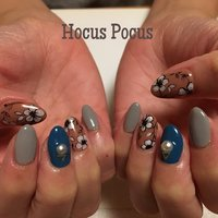 #autumnnails #hocus_pocus #ネイルブック
