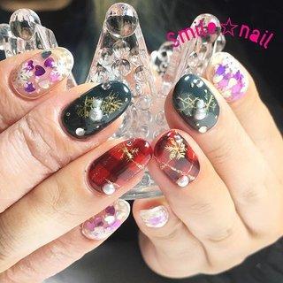 大田原定額ネイルサロン Smile☆nailのyukariです(*^^*) お持込みデザイン💡 クリスマスカラーに雪の結晶❄️ 結晶は手書きとシールのミックスです♪ ご来店ありがとうございました😊 またお待ちしてます☆ ☆,。・:*:・゚'☆,。・:*:・゚'☆,。・:*:・゚' #smilenail #スマイルネイル #大田原市ネイルサロン #大田原ネイルサロン #大田原定額ネイル #定額ネイル #お家サロン #ネイルサロン #ジェルネイル #セルフネイル #ネイルアート #ネイリスト #個性派ネイル #派手カワネイル #美爪 #ネイルチップ #オーダーチップ #ミンネ #minne #nailbook #冬ネイル #クリスマスネイル #チェックネイル ☆,。・:*:・゚'☆,。・:*:・゚'☆,。・:*:・゚' HPはプロフィールのURLから☆ #ネイルブック からご予約出来るようになりました❤️ ☆,。・:*:・゚'☆,。・:*:・゚'☆,。・:*:・゚' フリルでピアス ミンネでネイルチップを販売してます ٩( ᐛ )و  ネイルチップ→ミンネ https://minne.com/5116ykr (スマイルネイルで検索‼︎) ピアス→フリル  https://fril.jp/shop/Smile_bijou (スマイルビジュー ネイリストで検索‼︎) #冬 #クリスマス #デート #女子会 #ハンド #ホログラム #チェック #パール #ハート #雪の結晶 #ミディアム #レッド #グリーン #ブラック #ジェル #お客様 #Smile☆nail #ネイルブック