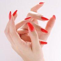 憧れの赤のワンカラーネイル #お正月 #パーティー #ハンド #ワンカラー #ロング #レッド #ジェル #お客様 #Megumi Yamamoto #ネイルブック