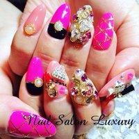 #Nailbook #ハンド #ショート #ピンク #ジェル #n_luxury #ネイルブック