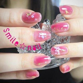 大田原定額ネイルサロン Smile☆nailのyukariです(*^^*) ムラ塗りワンカラー💗 透け感のあるカラーでするとより可愛い😍✨ アートは手描きとワイヤーで花束アート💐 ご来店ありがとうございました😊 ☆,。・:*:・゚'☆,。・:*:・゚'☆,。・:*:・゚' #smilenail #スマイルネイル #大田原市ネイルサロン #大田原ネイルサロン #大田原定額ネイル #定額ネイル #お家サロン #ネイルサロン #ジェルネイル #セルフネイル #ネイルアート #ネイリスト #個性派ネイル #派手カワネイル #美爪 #ネイルチップ #オーダーチップ #ミンネ #minne #nailbook #お花ネイル #フラワーネイル #金箔ネイル #ニュアンスネイル #塗りかけネイル ☆,。・:*:・゚'☆,。・:*:・゚'☆,。・:*:・゚' HPはプロフィールのURLから☆ #ネイルブック からご予約出来るようになりました❤️ ☆,。・:*:・゚'☆,。・:*:・゚'☆,。・:*:・゚' ラクマでピアス ミンネでネイルチップを販売してます ٩( ᐛ )و  ネイルチップ→ミンネ https://minne.com/5116ykr (スマイルネイルで検索‼︎) ピアス→ラクマ https://fril.jp/shop/Smile_bijou (スマイルビジュー ネイリストで検索‼︎) #オールシーズン #成人式 #浴衣 #デート #ハンド #ワンカラー #フラワー #シースルー #ワイヤー #ミディアム #ピンク #レッド #ゴールド #ジェル #お客様 #Smile☆nail #ネイルブック