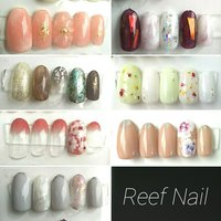 #Reef Nail #ネイルブック