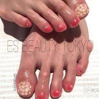 ES BEAUYY TOKYOです♡ 3D フラワー #es_beauty_tokyo #ネイルブック
