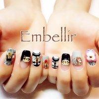#Nailbook #ネイルブック #embellir_sk #ネイルブック
