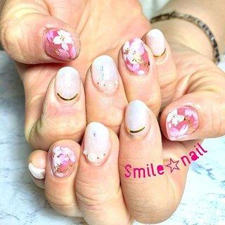 大田原定額ネイルサロン Smile☆nailのyukariです(*^^*) ご紹介&ブライダルでご来店頂きました❤️ ご紹介者のお友達とお揃いネイルで、お式に向けて準備万端😍 仲良しで羨ましいです✨ 晴れの日のお手伝いさせて頂きありがとうございました🤗 ご来店ありがとうございます😊 差入れ美味しかったです❤️ ☆,。・:*:・゚'☆,。・:*:・゚'☆,。・:*:・゚' #smilenail #スマイルネイル #大田原市ネイルサロン #大田原市ネイル #大田原ネイルサロン #大田原ネイル #大田原定額ネイル #ネイルサロン #ジェルネイル #セルフネイル #ネイルアート #ネイリスト #個性派ネイル #派手カワネイル #nailpic #美爪 #ネイルチップ #オーダーチップ #ミンネ #minne #nailbook #春ネイル #桜ネイル #フラワーネイル #透け感ネイル #大人可愛いネイル #花嫁ネイル ☆,。・:*:・゚'☆,。・:*:・゚'☆,。・:*:・゚' HPはプロフィールのURLから☆ #ネイルブック からご予約出来るようになりました❤️ ☆,。・:*:・゚'☆,。・:*:・゚'☆,。・:*:・゚' ラクマでピアス ミンネでネイルチップを販売してます ٩( ᐛ )و  ネイルチップ→ミンネ https://minne.com/5116ykr (スマイルネイルで検索‼︎) ピアス→ラクマ https://fril.jp/shop/Smile_bijou (スマイルビジュー ネイリストで検索‼︎) #春 #オフィス #ブライダル #デート #ハンド #フラワー #パール #シースルー #ホイル #オーロラ #ショート #ホワイト #ピンク #ジェル #お客様 #Smile☆nail #ネイルブック
