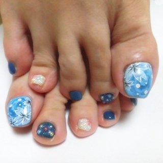#ネイルサロン #ネイルアート #ネイル #ネイルデザイン #エステ #フットネイル #和風 #お花 #フラワー #アート #デザイン #桜 #桜ネイル #サクラ #キラキラ #かわいい #美爪 #ファッション #ファッションコーデ #nails #esthe #art #design #foot #color #kimono #flower #cherryblossom #spring #vetro #pregel #beauty #春 #旅行 #デート #女子会 #フット #ホログラム #フラワー #シュガー #マーブル #和 #ホワイト #ブルー #ネイビー #ジェル #お客様 #ネイリスト 宮森貴子 #ネイルブック