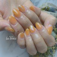 夏ネイル  #nail#nails#nailart#gelnails#naildesing#fashion#latrois#ネイル#ジェルネイル#トロワ#西尾ネイル#西尾市ネイルサロン#三河ネイル#ニュアンスネイル#手描きネイル  お問い合わせはこちらからお願い致します📩LINE ▸▸@hax1956a Instagram ▸▸@la.trois_nail #la.trois_nail #ネイルブック