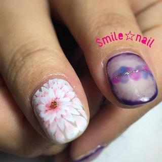 大田原定額ネイルサロン Smile☆nailのyukariです(*^^*) イメージをお伝え頂いて、デザインお作りしました✨ 親指は大好きな蜷川実花さんのお写真がデザインソース💡 完全オリジナル‼︎世界に1つのデザインです❤️ ご来店ありがとうございます😊 また楽しいお話楽しみにしてます🤗 ☆,。・:*:・゚'☆,。・:*:・゚'☆,。・:*:・゚' #smilenail #スマイルネイル #大田原市ネイルサロン #大田原市ネイル #大田原ネイルサロン #大田原ネイル #大田原定額ネイル #ネイルサロン #ジェルネイル #セルフネイル #ネイルアート #ネイリスト #個性派ネイル #派手カワネイル #nailpic #美爪 #ネイルチップ #オーダーチップ #ミンネ #minne #nailbook #フラワーネイル #ニュアンスネイル #ニナミカネイル #蜷川実花ネイル ☆,。・:*:・゚'☆,。・:*:・゚'☆,。・:*:・゚' HPはプロフィールのURLから☆ #ネイルブック からご予約出来るようになりました❤️ ☆,。・:*:・゚'☆,。・:*:・゚'☆,。・:*:・゚' ラクマでピアス ミンネでネイルチップを販売してます ٩( ᐛ )و  ネイルチップ→ミンネ https://minne.com/5116ykr (スマイルネイルで検索‼︎) ピアス→ラクマ https://fril.jp/shop/Smile_bijou (スマイルビジュー ネイリストで検索‼︎) #旅行 #パーティー #デート #女子会 #ハンド #グラデーション #フラワー #シースルー #ピンク #ブルー #パープル #ジェル #お客様 #Smile☆nail #ネイルブック