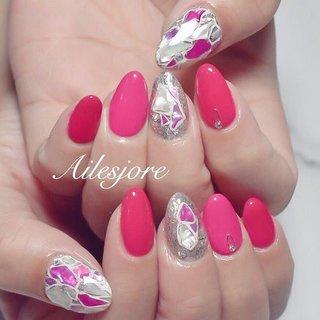 なんも決まってない🥺って事で 私のやりたかったネイルを💋 * 本厚木ネイルサロン Ailesjoreエルジョワ *  #nails #Japan #nailswag #springnails #nailartist #nailstagram #handpaint #gelnails #beauty #nailsalon #pinknails #nagel #ネイルサロン #本厚木 #本厚木ネイルサロン #町田 #海老名 #エルジョワ #サマーネイル #派手ネイル #おしゃれネイル #かわいい #ネイリスト #ジェルネイル #💅🏼 #タイル #ピンクネイル #タイルネイル #シェルタイル #シェルネイル #春 #夏 #海 #デート #ハンド #ラメ #ワンカラー #シェル #エスニック #ピンク #シルバー #お客様 #nailist_tsubasa #ネイルブック
