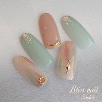 sample✨ #ハンド #ジェル #Bliss☆Sachi #ネイルブック