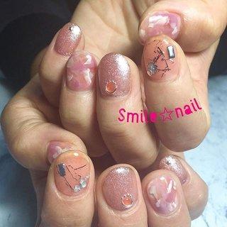 大田原定額ネイルサロン Smile☆nailのyukariです(*^^*) 5月のセレクトコースデザインをカラーチェンジ♪ ピンクで柔らかい雰囲気に仕上げました❤️ピンクも可愛いぃ😍 いつもご来店ありがとうございます😊お呼ばれ楽しんで来てくださいね✨ ☆,。・:*:・゚'☆,。・:*:・゚'☆,。・:*:・゚' #smilenail #スマイルネイル #大田原市ネイルサロン #大田原市ネイル #大田原ネイルサロン #大田原ネイル #大田原定額ネイル #那須塩原ネイル #那須塩原ネイルサロン #ネイルサロン #ジェルネイル #セルフネイル #ネイルアート #ネイリスト #個性派ネイル #派手カワネイル #nailpic #美爪 #ネイルチップ #オーダーチップ #ミンネ #minne #nailbook #ネイリスト仲間募集 #ネイル好きな人と繋がりたい #ニュアンスネイル #透け感ネイル #お呼ばれネイル ☆,。・:*:・゚'☆,。・:*:・゚'☆,。・:*:・゚' HPはプロフィールのURLから☆ #ネイルブック からご予約出来るようになりました❤️ ☆,。・:*:・゚'☆,。・:*:・゚'☆,。・:*:・゚' ラクマでピアス ミンネでネイルチップを販売してます ٩( ᐛ )و  ネイルチップ→ミンネ https://minne.com/5116ykr (スマイルネイルで検索‼︎) ピアス→ラクマ https://fril.jp/shop/Smile_bijou (スマイルビジュー ネイリストで検索‼︎) #オールシーズン #パーティー #デート #女子会 #ハンド #ラメ #シースルー #ニュアンス #べっ甲 #ショート #ピンク #オレンジ #シルバー #ジェル #お客様 #Smile☆nail #ネイルブック