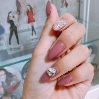 奈美恵ネイル♡ 一番のお気に入りネイル♪やっぱこのカラー大好き(๑˃́ꇴ˂̀๑)💕  #AO AQUA #みゆい #ネイルブック