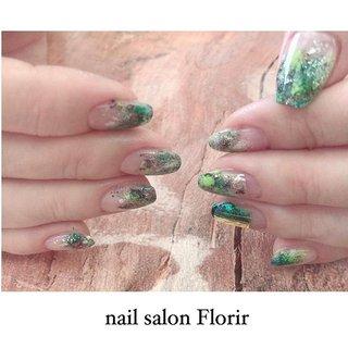 Green × black 強め。かっこいいめ。 . お似合いでした❤️ . ゴールデンウィークも営業してます😊 . Hand (Gel design manicure) 4980yen〜 Foot (Gel pedicure ) 5980yen〜 . #PayPay 決済導入しました♪ 還元キャンペーンでお得に決済できます! . Includes filing, dry care, gel nail, gel coat, and a nail design. Changing nail and stone colors are free. . nail salon florir  #フローリア 📞03-3403-5570 . #gelnails #nailart #nails #naildesign #nailsalon #roppongi #tokyo #spring #instagood #instacool #nailswag #likeforlike #followme #l4l #fashion #nailart #ネイル #ネイルデザイン #ワンカラー #ネイルアート #美爪 #花柄 #六本木 #春ネイル #florirnail #ニュアンスネイル #gw #ペイペイ #冬 #ハンド #ニュアンス #カモフラージュ #ミディアム #グリーン #ブラック #ジェル #お客様 #Florir_Nail #ネイルブック