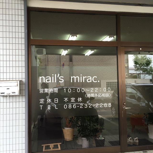nail's mirac. ☆ネイルズ ミラク...