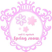 nail&eyelash Spring snow
